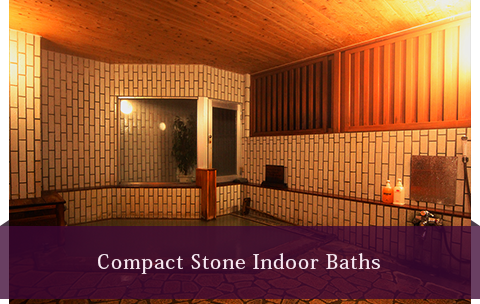 Compact stone water bath